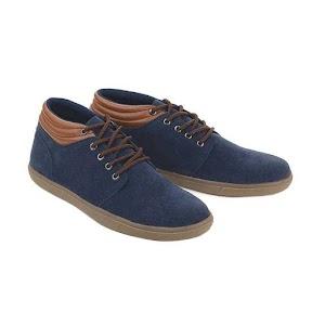 Sepatu Pria Navy