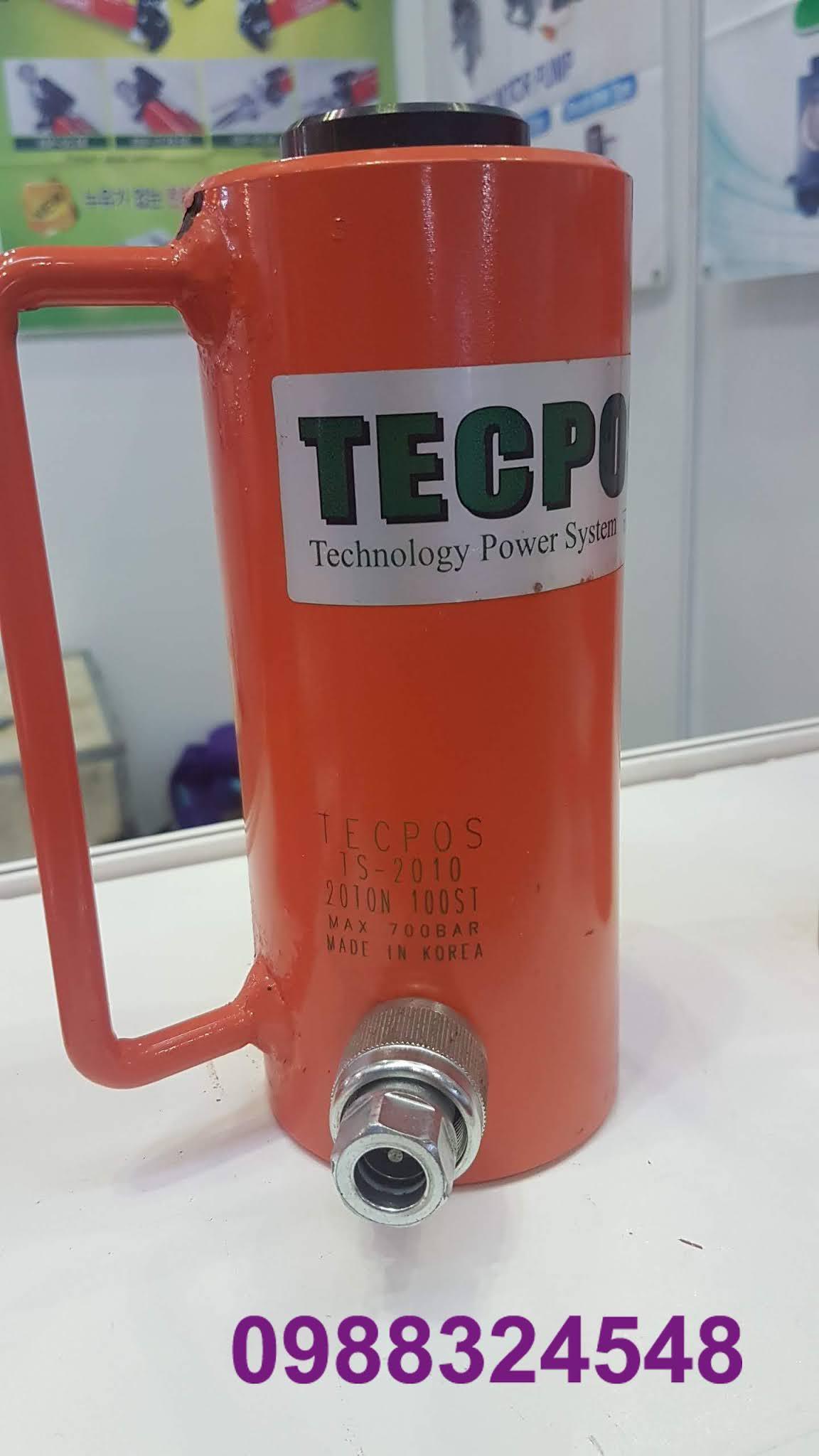 Kích thủy lực Tecpos 20 tấn TS-2010, hành trình 100mm