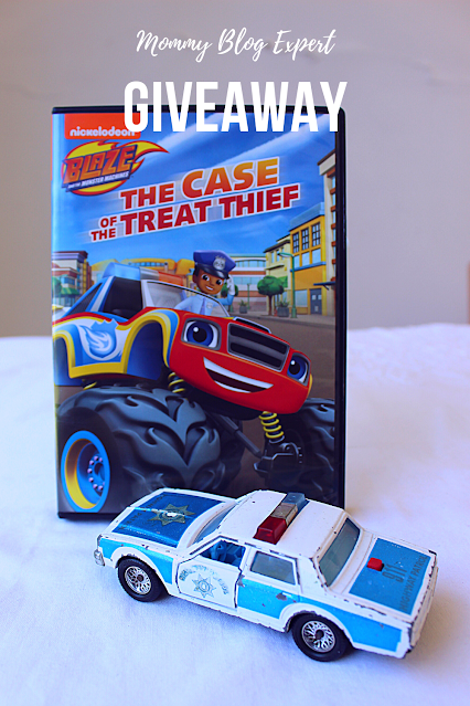 Blaze and the Monster Machines The Case of the Treat Thief Giveaway