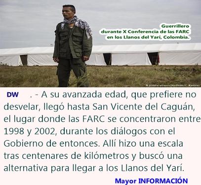 También las madres de las FARC buscan a sus hijos en la selva