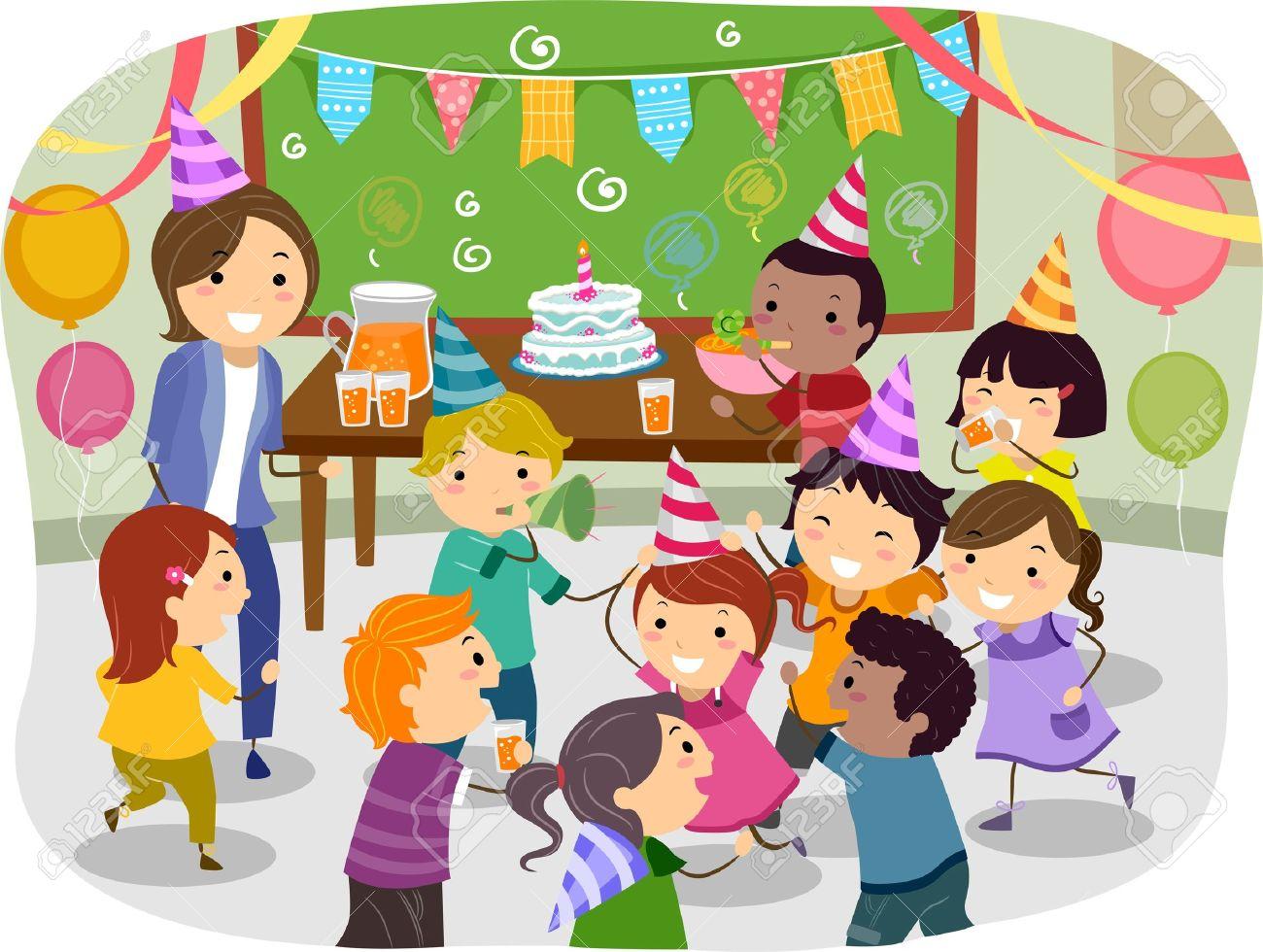 acariciando fiesta de colegio