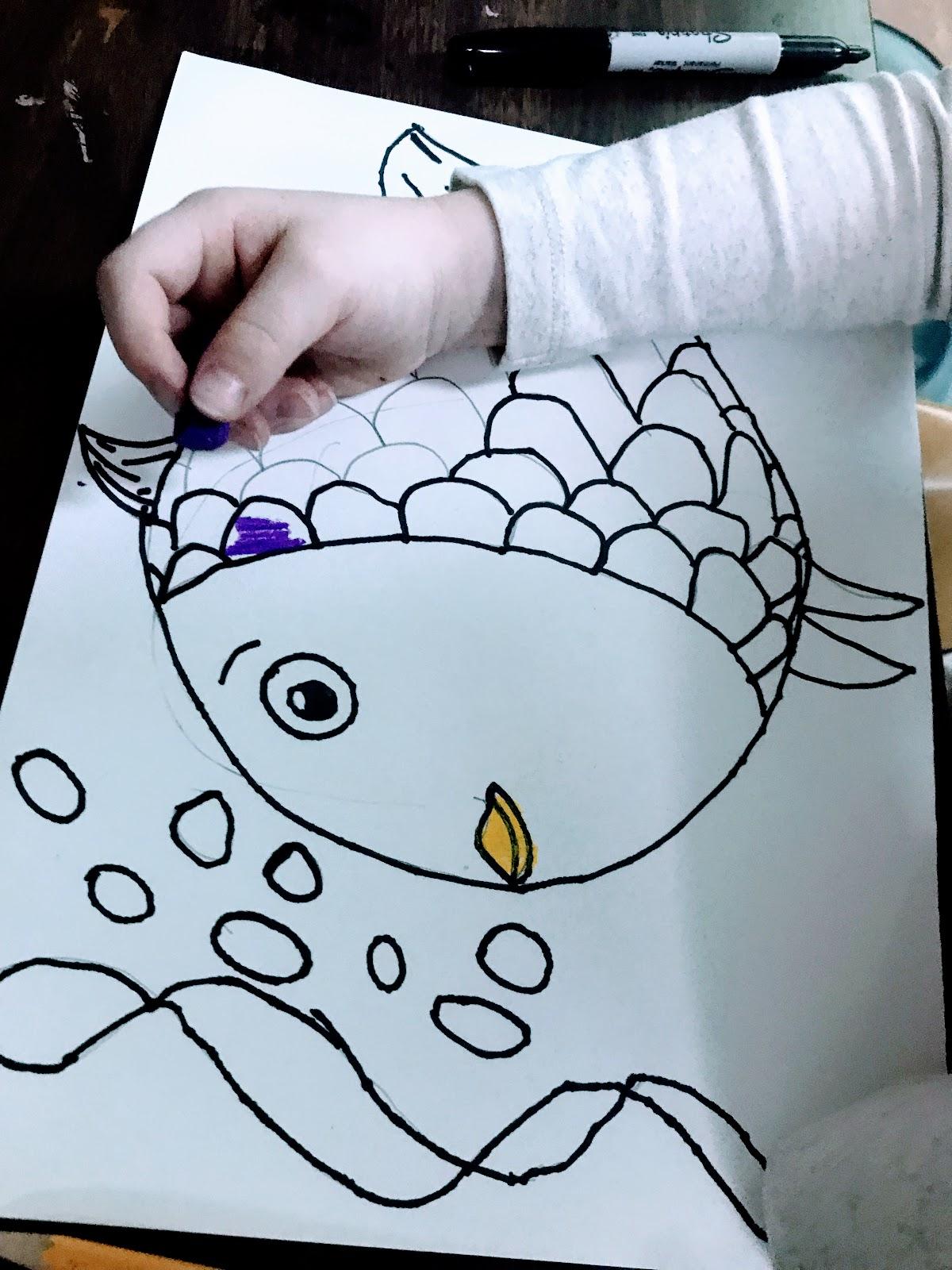 Elements Of The Art Room Kindergarten Rainbow Fish