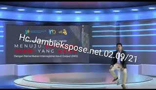 BPS Provinsi Jambi Gelar Webinar AGILE