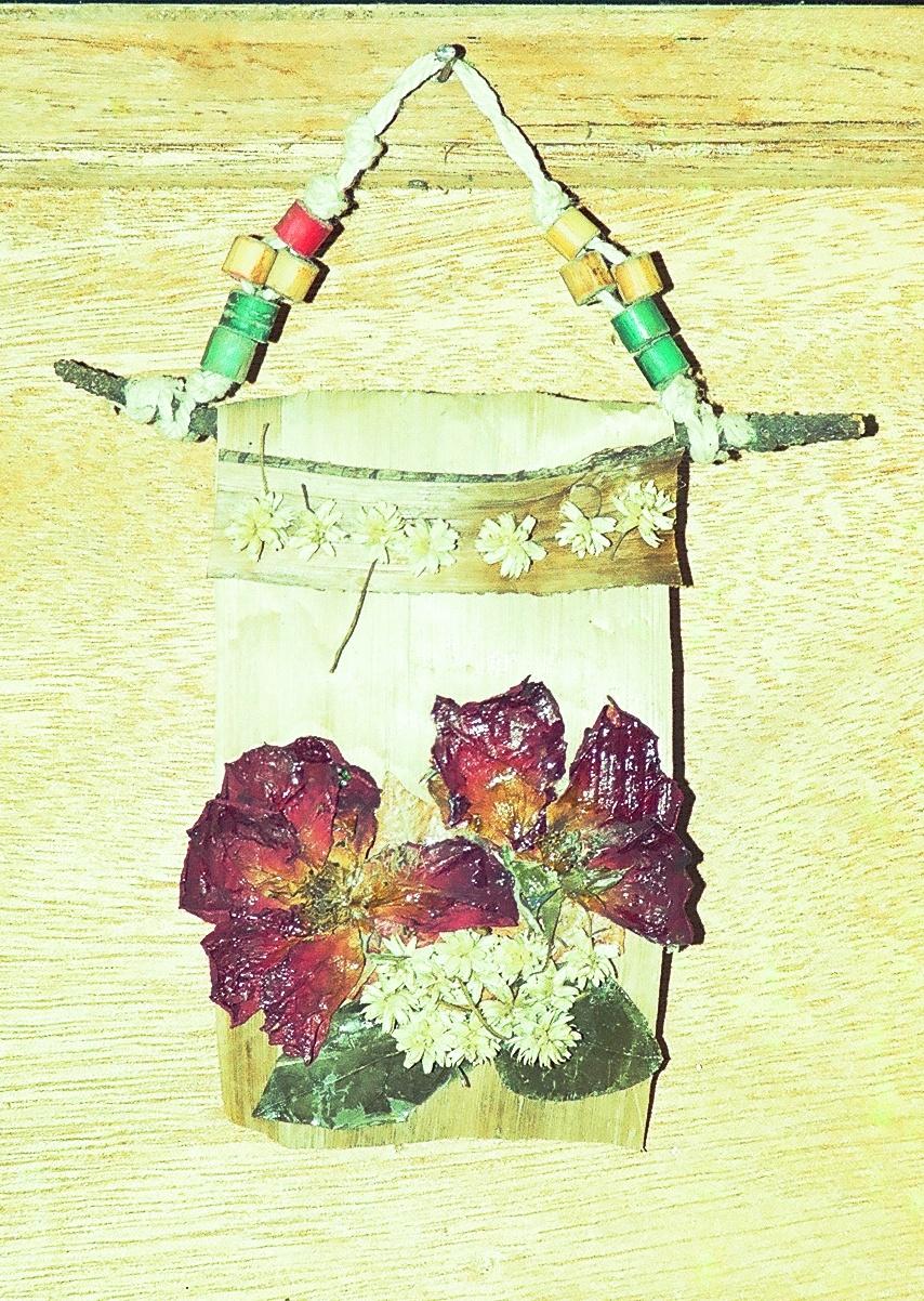 berbagi gagasan: Recycle Handicraft, banana steems