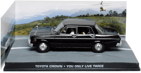 Toyota Crown You only live twice 1:43