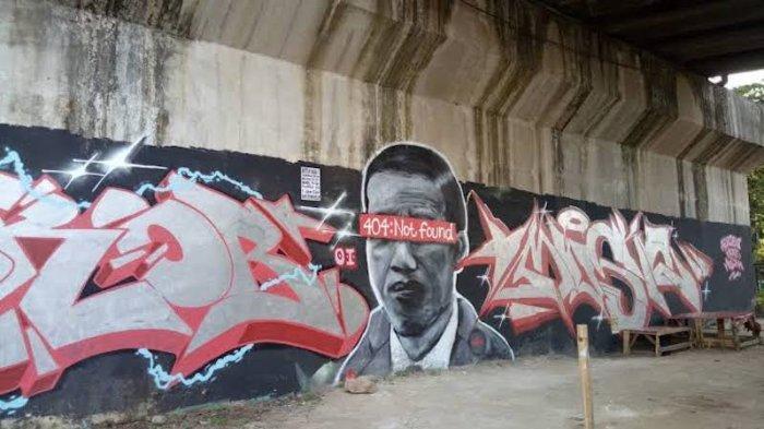 Mural Jokowi Not Found