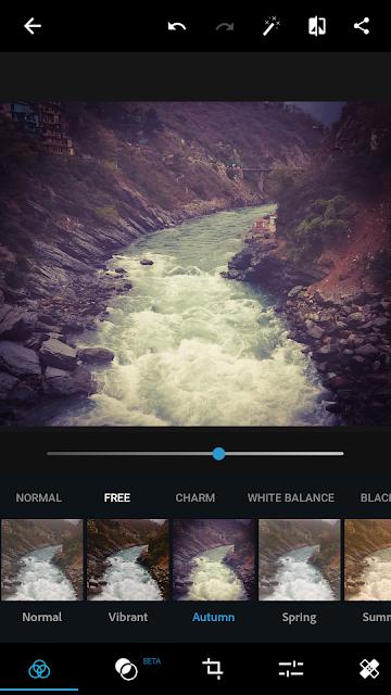 Very good interface of adobe photoshop