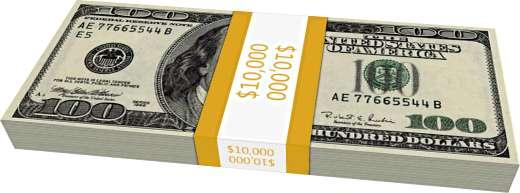 Kamu Perlu Tahu Ini Bentuk Fisik Tumpukan Uang 1 Juta Miliar Triliun U Dollar