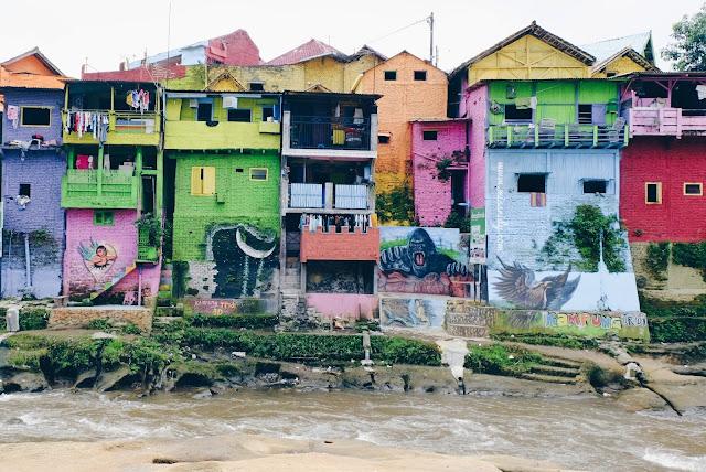 objek wisata rumah warna-warni di malang