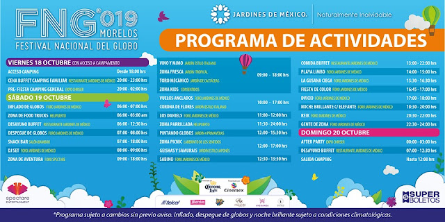 festival del globo morelos 2019