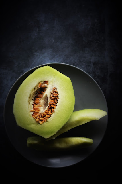 Honeydew melon photography by Reshma Seetharam