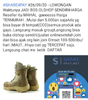 Bisnis share4pay penipuan
