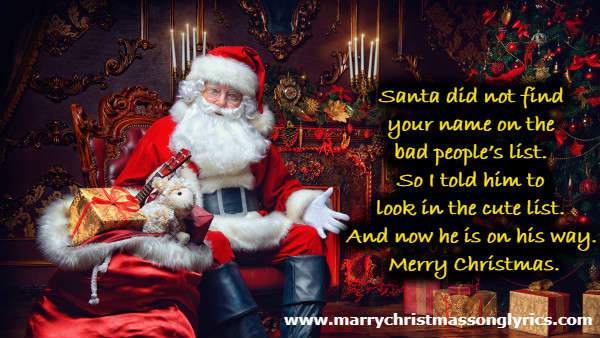 Funny Christmas Wishes for Boyfriend