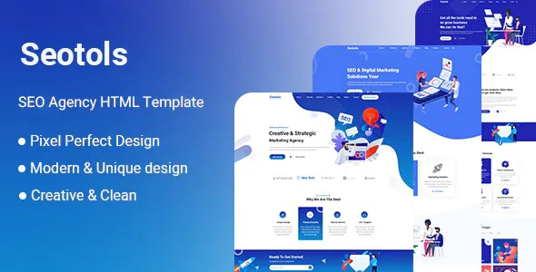 Best SEO And Agency HTML Template