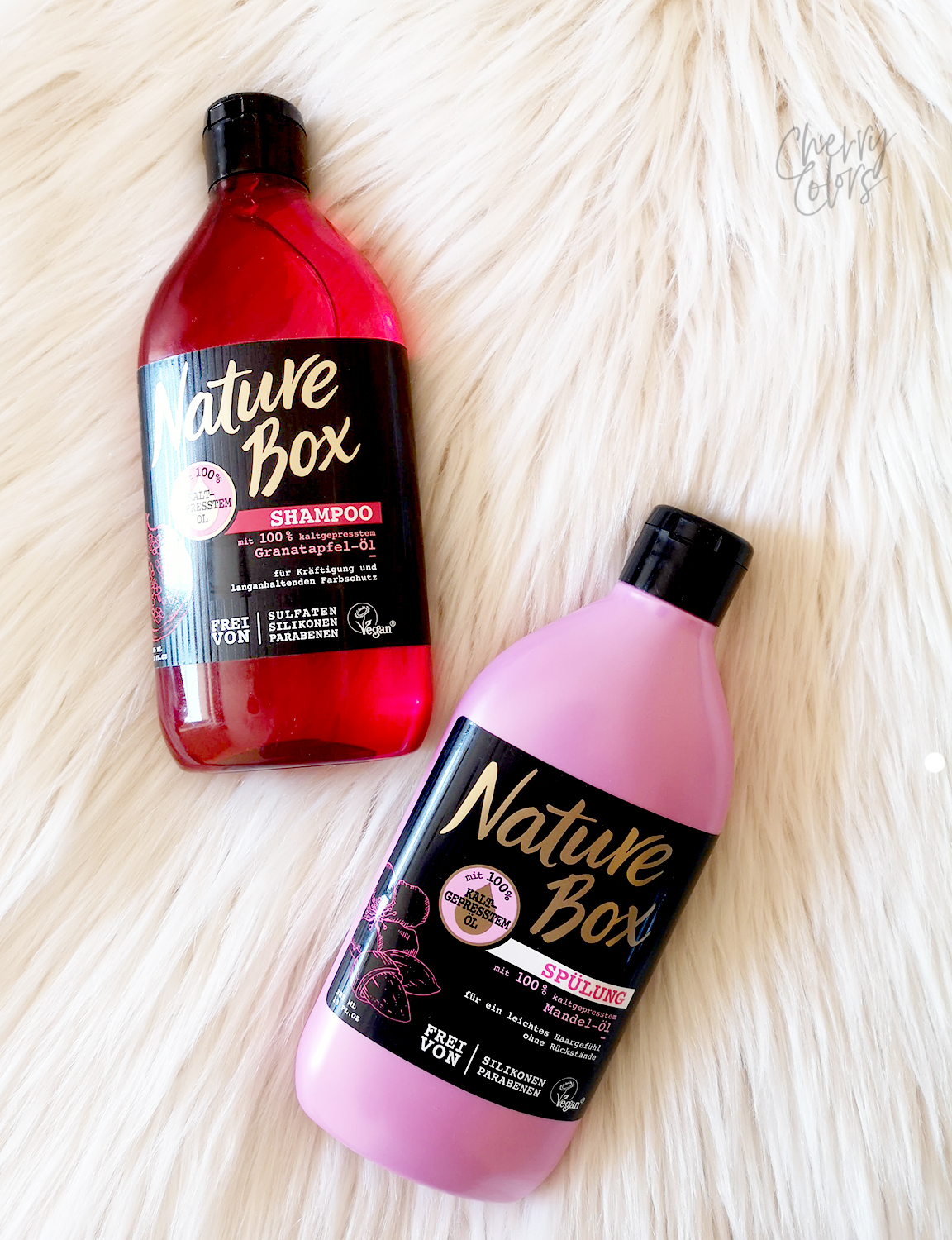 Nature Box Pomegranate Shampoo
