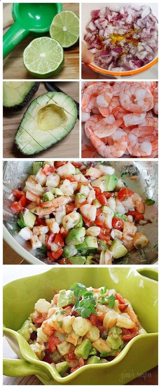 Zesty Lime Shrimp Avocado