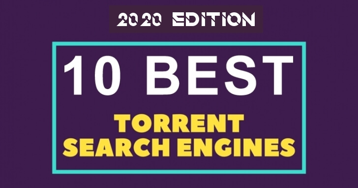 Torrent search engines