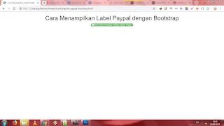 ✓ Cara Membuat Tombol Donasi Paypal dengan Bootstrap