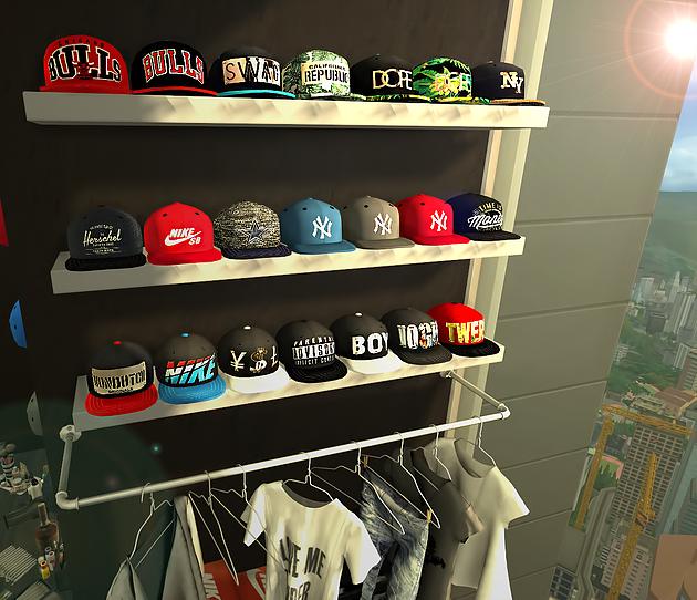 My Sims 4 Blog Caps Deco By Ebonix