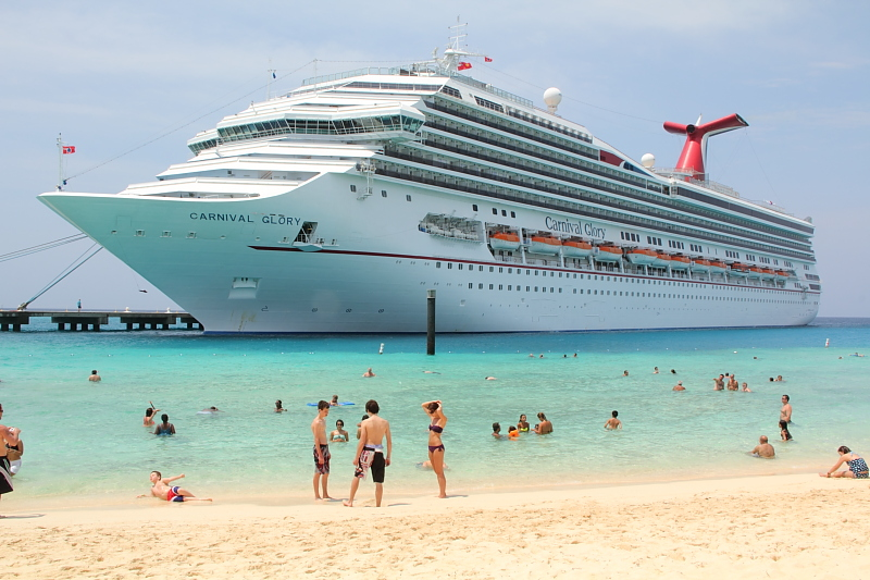 Carnival Glory at Grand Turk