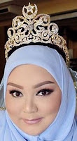 diamond crescent star tiara queen saleha brunei princess nurul amal