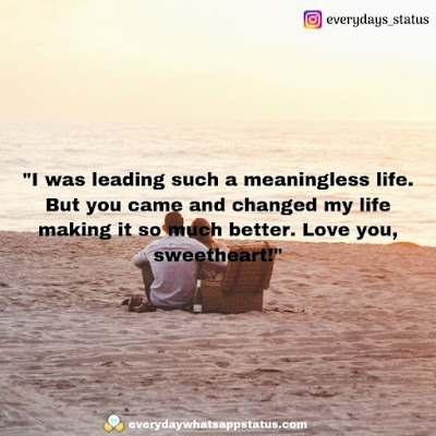 love quotes for him   Everyday Whatsapp Status   Unique 50+ love quotes image about life