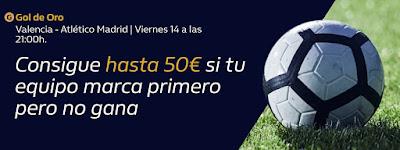 william hill promocion Valencia vs Atletico 14 febrero 2020