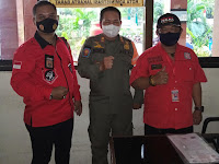 LSM BARAK NKRI DPW DKI Jakarta Silaturahmi Ke Kantor Lurah Tegal Alur Terkait Panti Pijat Yang Beroperasi Pada Masa PPKM Darurat