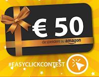 Logo Vinci gratis un buono Amazon da 50€ con Easy Click
