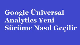 Google Üniversal Analytics