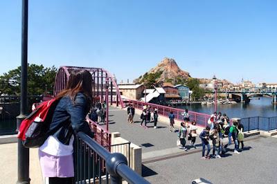 Mount Prometheus at Tokyo Disneysea Japan