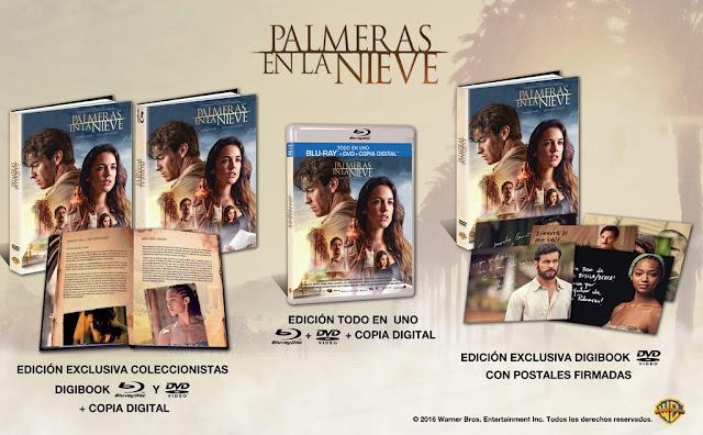 A la venta 'Palmeras en la nieve' en Edición Todo en Uno y Edición Digibook Coleccionista en Blu-Ray y DVD