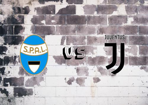 SPAL vs Juventus  Resumen y Partido Completo
