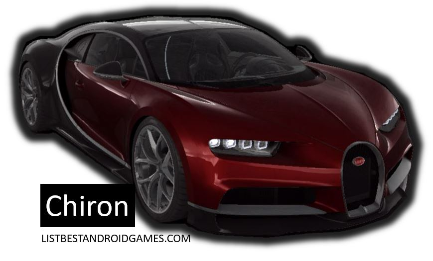 Best Cars Tier 5 Chiron