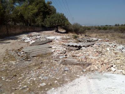 ARCI lanza un sos al Consell para acabar con las escombreras ilegales en la Comunitat Valenciana