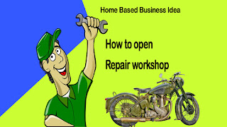 kaise kholen car motorcycle scooter repair workshop