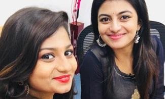 Thanthi TV anchor Varshini Ramu Tamil Dubsmash
