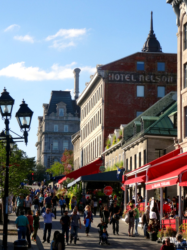 Charming Outdoor Terrace On Place Jacques Cartier Montreal Jardin