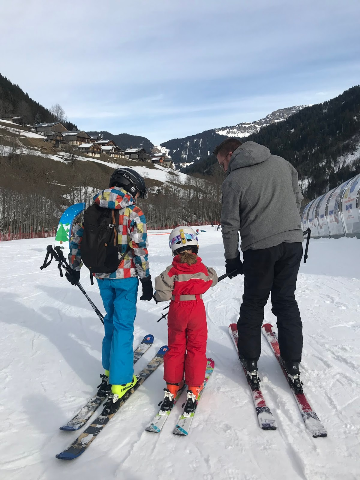 station de ski familiale