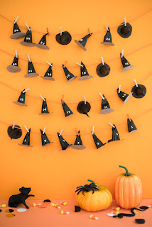 No Tricks! Halloween Countdown Calendar With Treats | ReviewThisReviews.com | OhHappyDay.com