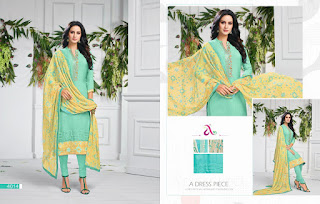 Angroop plus dairy milk vol 28 Churidar dress material