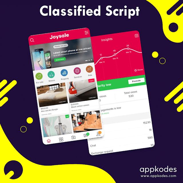 Classifieds script