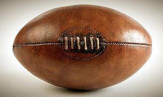 Balón Rugby Antiguo