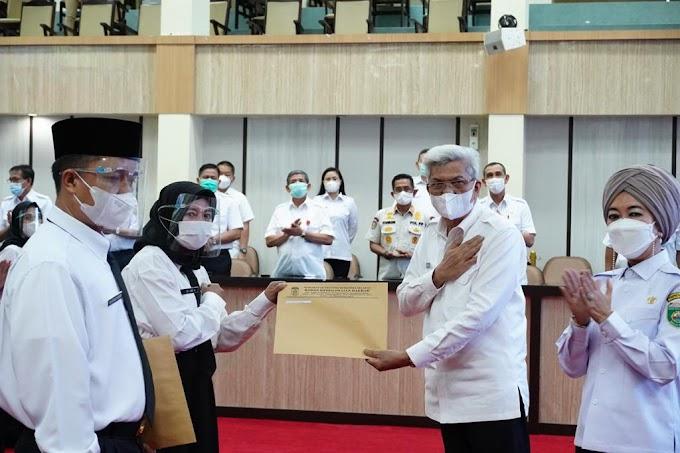 Wakil Gubernur Sumsel H Mawardi Yahya meresmikan PPPK di Lingkungan Pemprov Sumsel