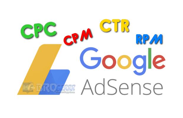 Istilah-istilah dalam Google Adsense, CPC, CTR, RPM,CPM, BPK, PPS,