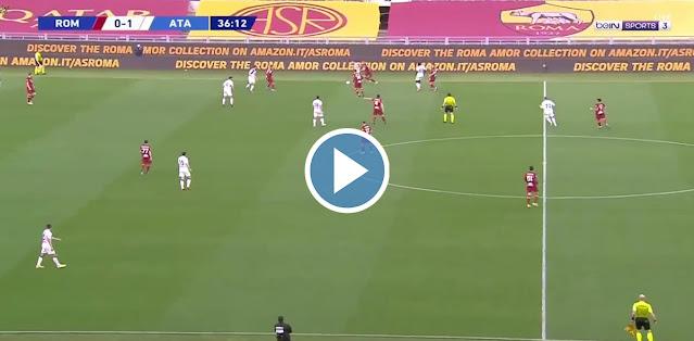 Roma vs Atalanta Live Score