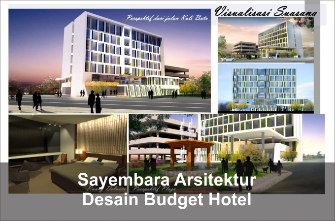 Desain bangunan hotel