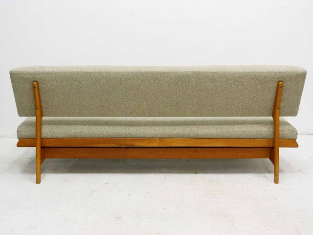 J.O. Carlsson Midcentury Sofa Daybed Back View