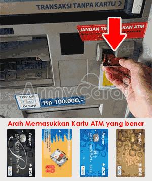 cara mengambil uang pada atm bca