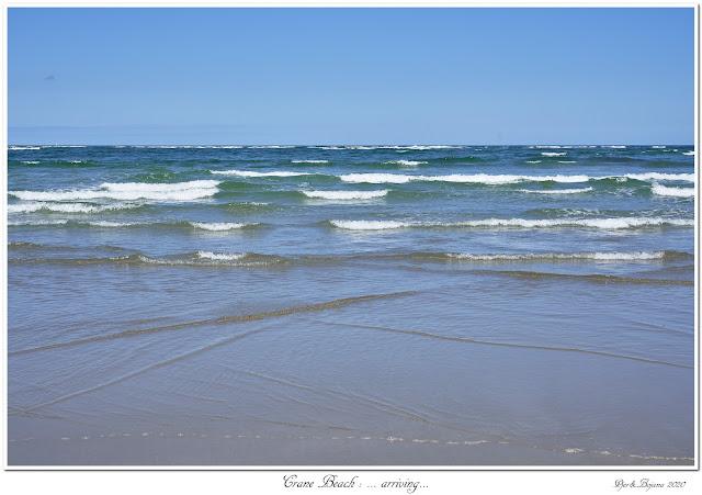 Crane Beach: ... arriving...